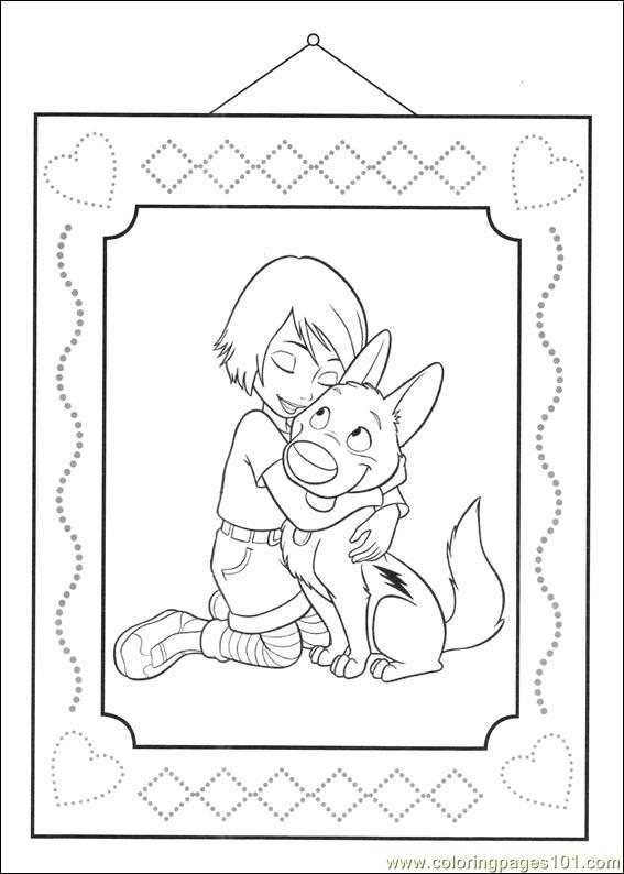 Bolt 47 Coloring Page