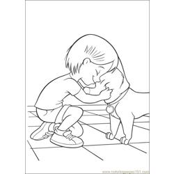 Bolt Coloring Pages 001
