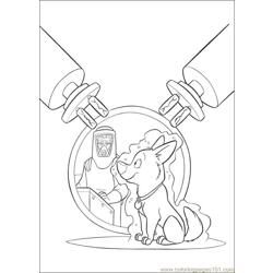Bolt Coloring Pages 002