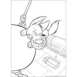Bolt Coloring Pages 008