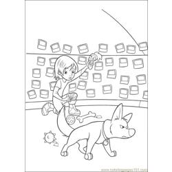 Bolt Coloring Pages 009