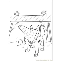 Bolt Coloring Pages 011