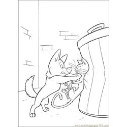 Bolt Coloring Pages 015