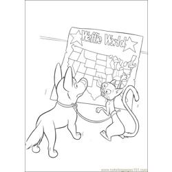 Bolt Coloring Pages 016