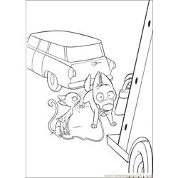 Bolt Coloring Pages 017