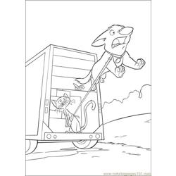 Bolt Coloring Pages 018