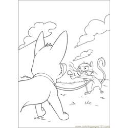 Bolt Coloring Pages 019