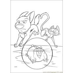 Bolt Coloring Pages 024