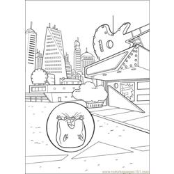 Bolt Coloring Pages 028