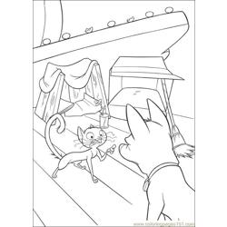 Bolt Coloring Pages 030 Free Coloring Page for Kids