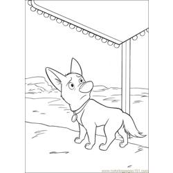 Bolt Coloring Pages 031 Free Coloring Page for Kids