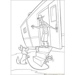 Bolt 20 Free Coloring Page for Kids