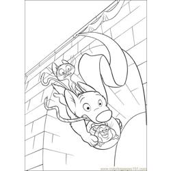 Bolt 23 Free Coloring Page for Kids