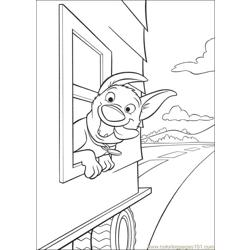 Bolt 25 Free Coloring Page for Kids
