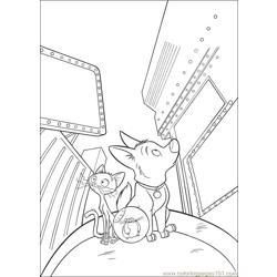 Bolt 27 Free Coloring Page for Kids