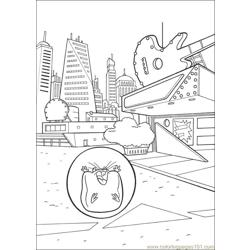 Bolt 28 Free Coloring Page for Kids
