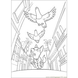 Bolt 32 Free Coloring Page for Kids