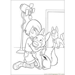 Bolt 33 Free Coloring Page for Kids