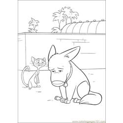 Bolt 36 Free Coloring Page for Kids