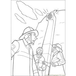 Bolt 42 Free Coloring Page for Kids