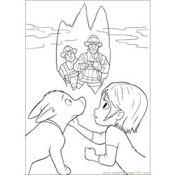 Bolt 43 Free Coloring Page for Kids