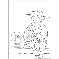 Bolt 45 Free Coloring Page for Kids