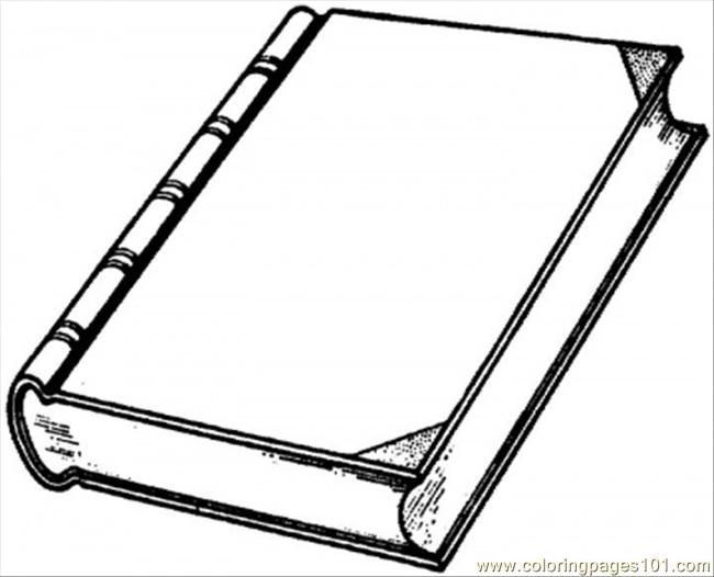 New Interesting Book Coloring Page Free Books Coloring Coloring Page Book