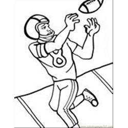 Football Coloring Pages 01 coloring page
