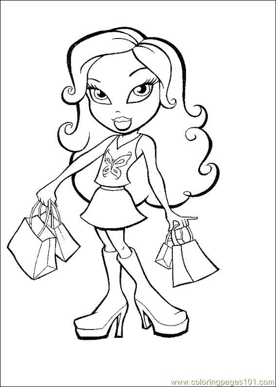 Bratz shoping bag
