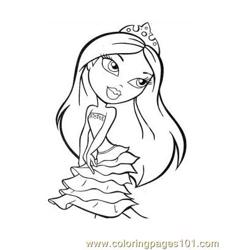 Brats  Free Coloring Page for Kids
