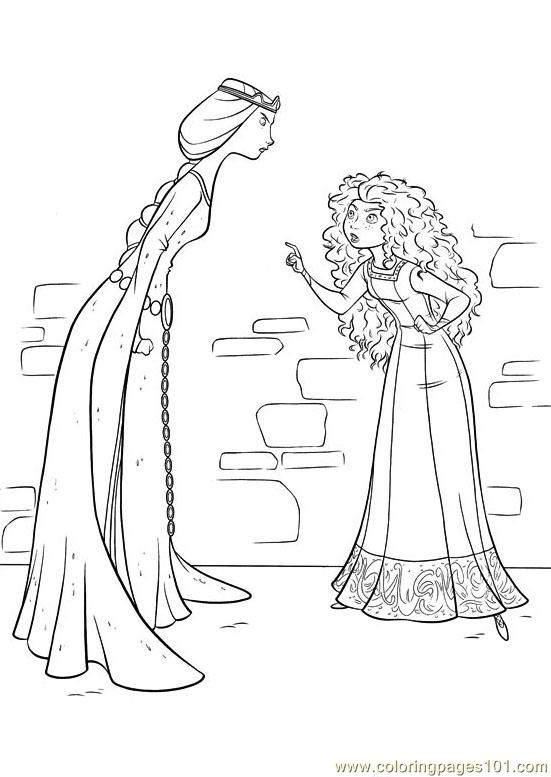 Brave 33 Coloring Page - Free Brave Coloring Pages ...
