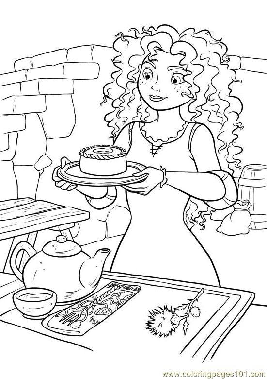 Brave 42 Coloring Page