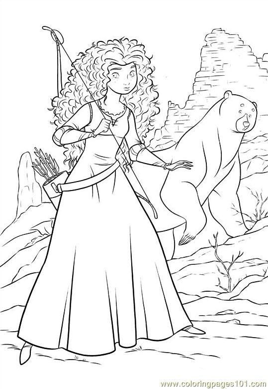Brave 62 Coloring Page Free Brave Coloring Pages