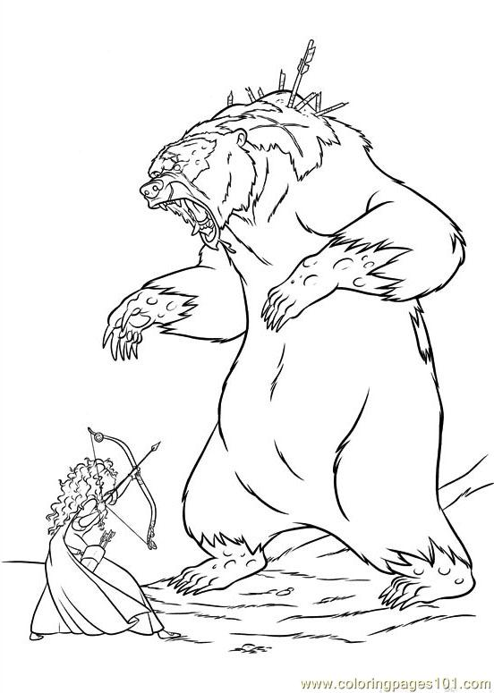 Brave 66 Coloring Page