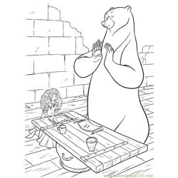 Brave 57 coloring page