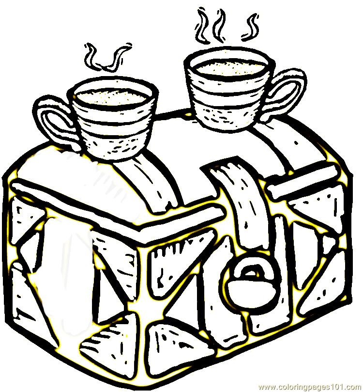 Coffee From Brazil Coloring Page Free Brazil Coloring
