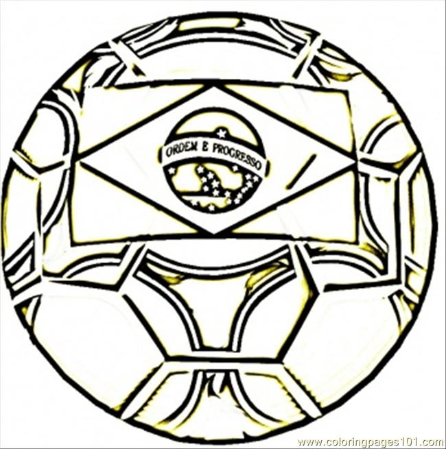 Flag Of Brazil Coloring Page - Free Brazil Coloring Pages ...