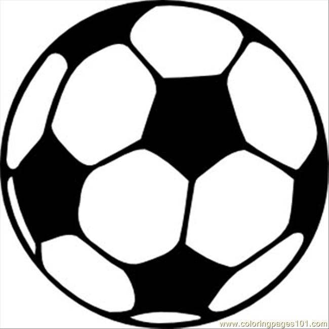 Football 2 4 Coloring Page Free