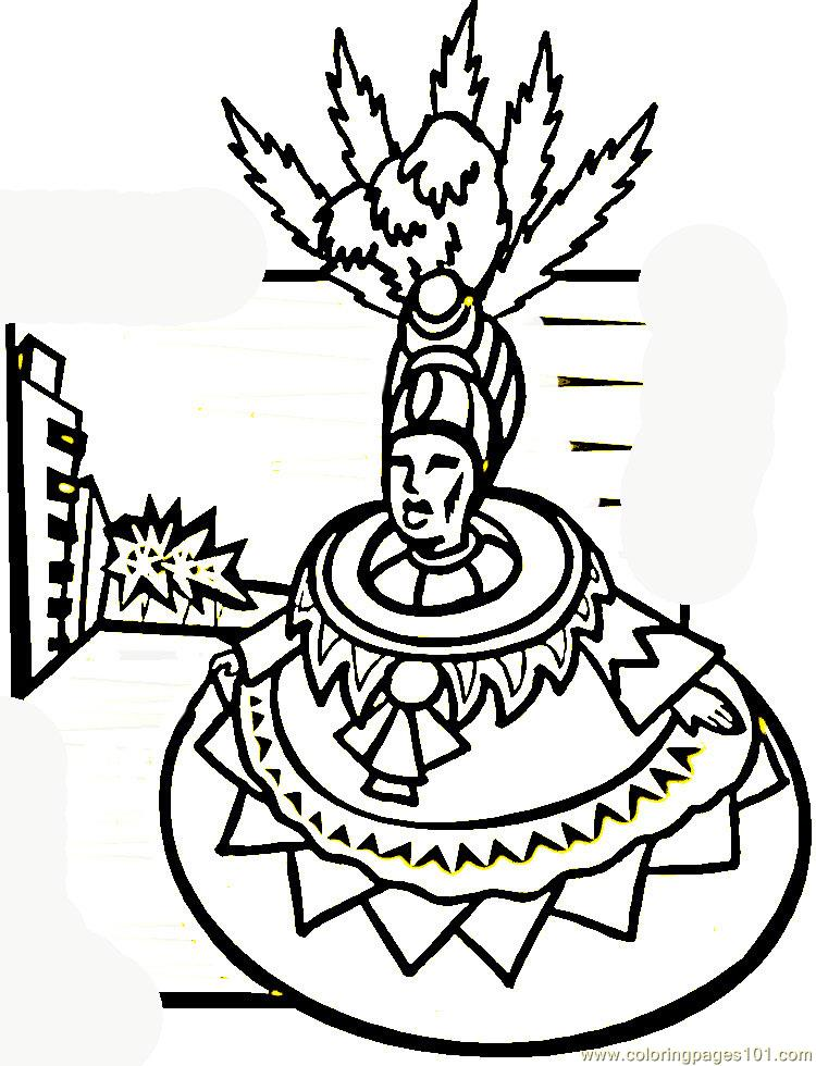 brazil carnival coloring pages - photo#11