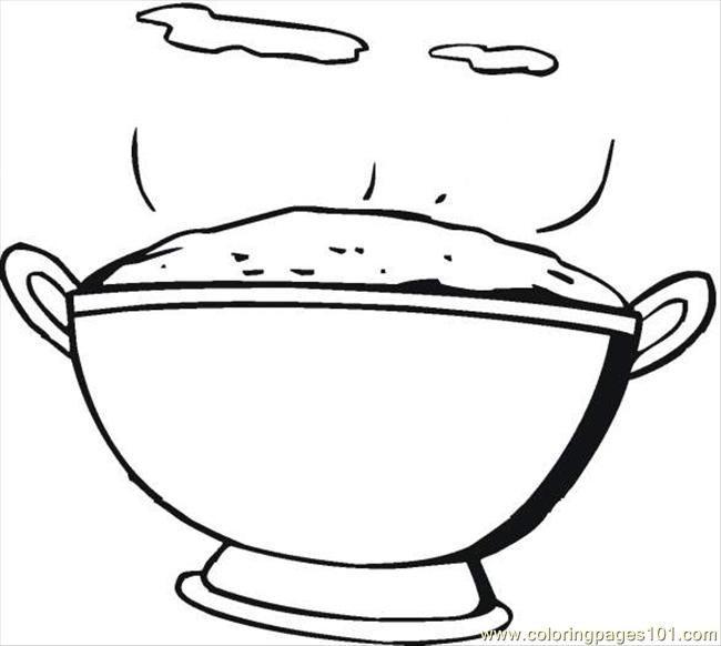 Rice 6 Coloring Page