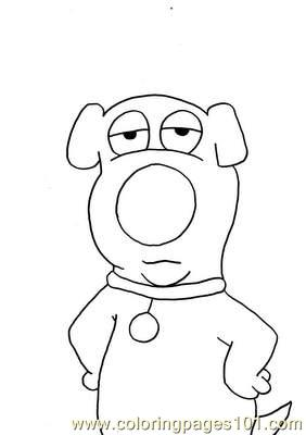 Brian%2bgriffin Coloring Page