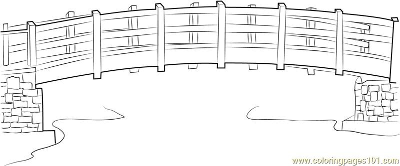 Bridge Coloring Page - Free Bridges Coloring Pages ...