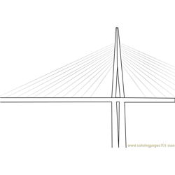 Millau Viaduct Cable Stayed Bridge