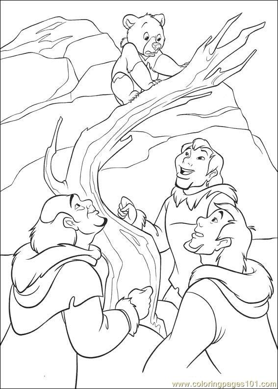 Brother Bear 2 08 Coloring Page