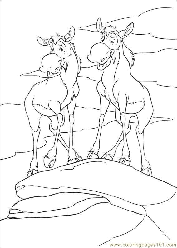 Brother Bear 2 13 Coloring Page