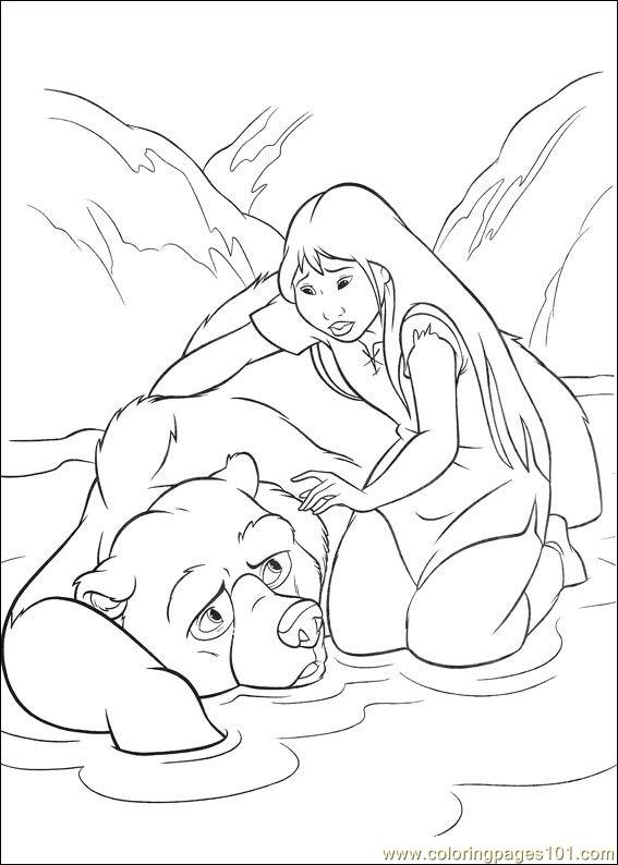 Brother Bear 2 15 Coloring Page