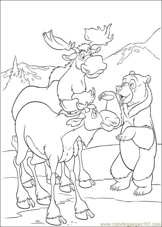 Brother Bear 2 31 Coloring Page