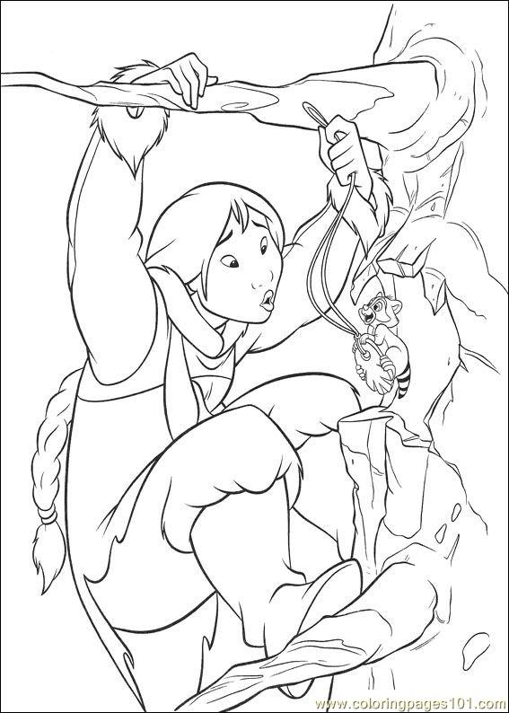 Brother Bear 2 40 Coloring Page