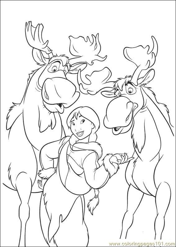 Brother Bear 2 44 Coloring Page