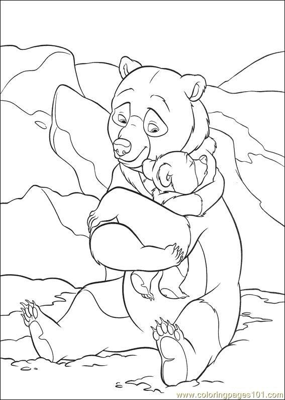 Brother Bear 2 56 Coloring Page